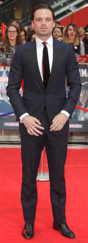 How tall is Sebastian Stan