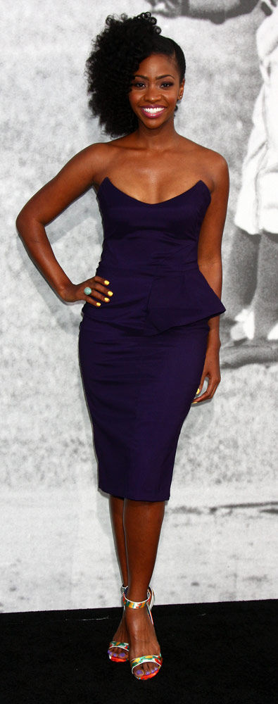 How tall is Teyonah Parris