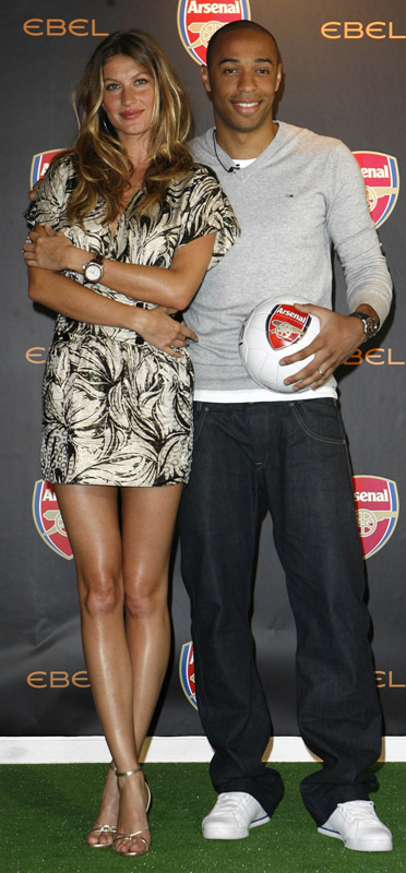 How tall is Thierry Henry