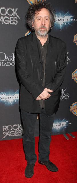 How tall is Tim Burton
