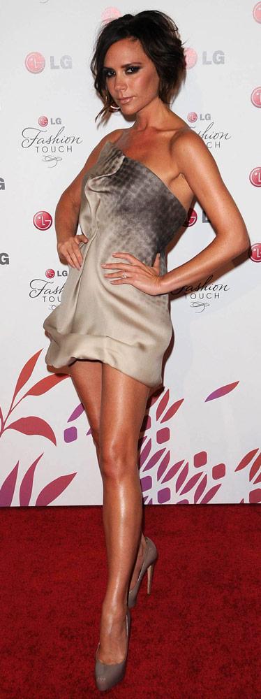 How tall is Victoria Beckham