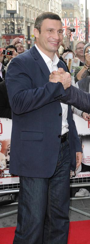 How tall is Vitali Klitschko